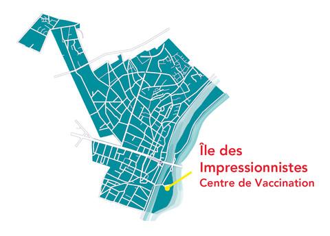 carte localisation centre vaccination